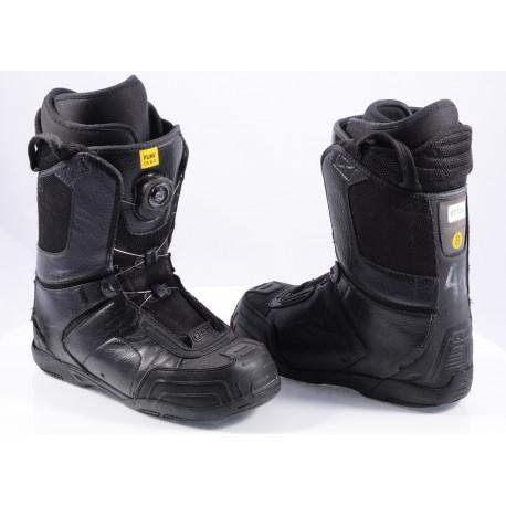snowboardové topánky FLOW ANSR BOA, BOA technology, Black