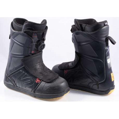 snowboardové topánky K2 RAIDER, INTUITION, BOA-TECHNOLOGY, flex 6/10 BLACK/yellow