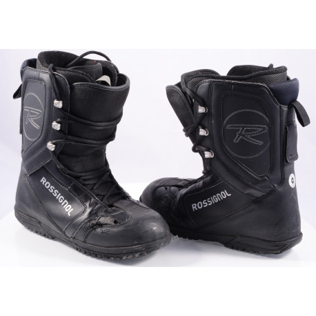 snowboard boots ROSSIGNOL EXCITE LACE, BLACK