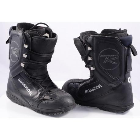 snowboardové topánky ROSSIGNOL EXCITE LACE, BLACK