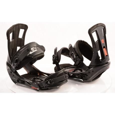 wiązania snowboardowe BURTON PROGRESSION black/red, size M/L