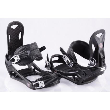 fijaciones snowboard NIDECKER EASY LOCK, BLACK, SWISS made ( como NUEVAS )