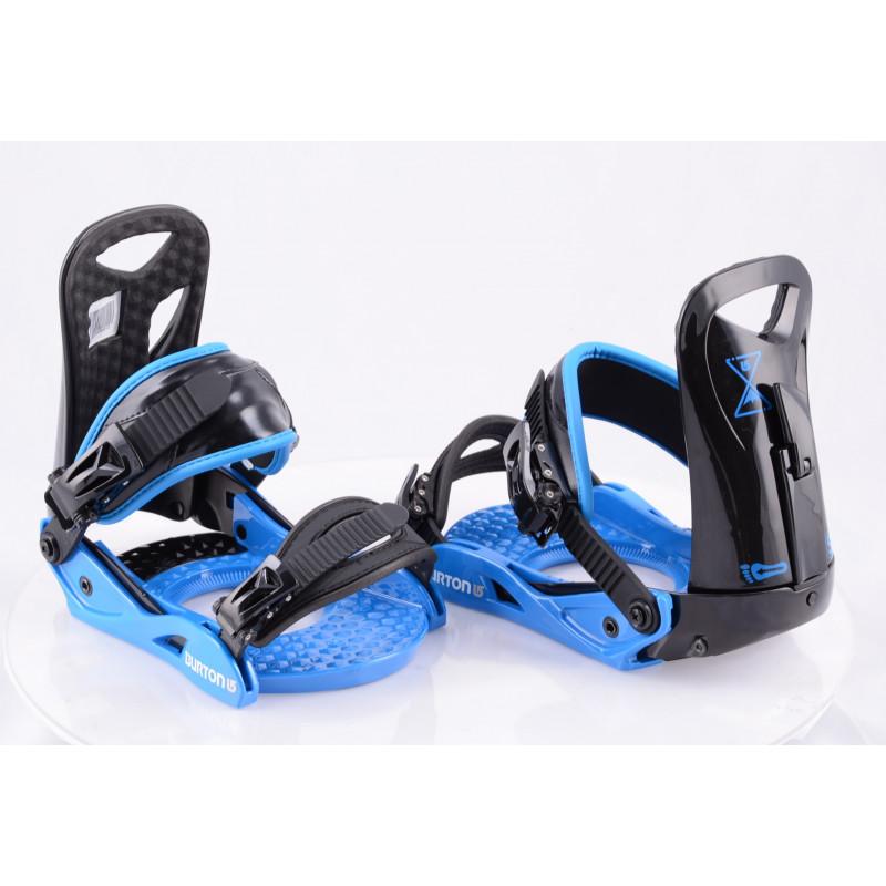 snowboardové viazanie BURTON PROGRESSION LOWSTACK II LE, BLACK/blue, size S/M ( NOVÉ )