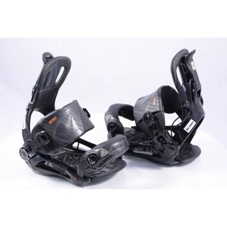 nowe wiązania snowboardowe FIREFLY FT7.5 FASTEC, BLACK/orange, size S/M ( NOWE )