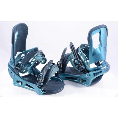 snowboard binding BURTON CARTEL blue, size M