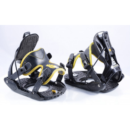 snowboardové vázání FLOW EVOLVE yellow, size M