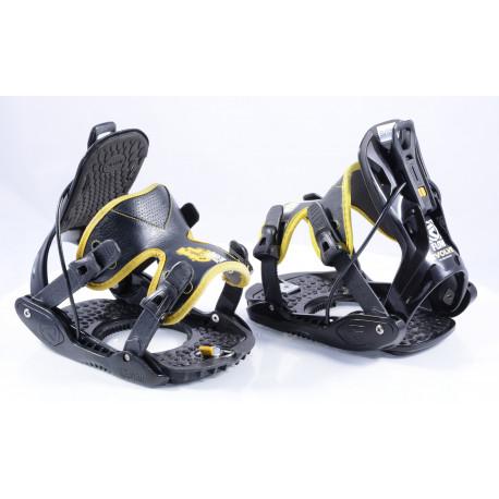 snowboardové viazanie FLOW EVOLVE yellow, size M