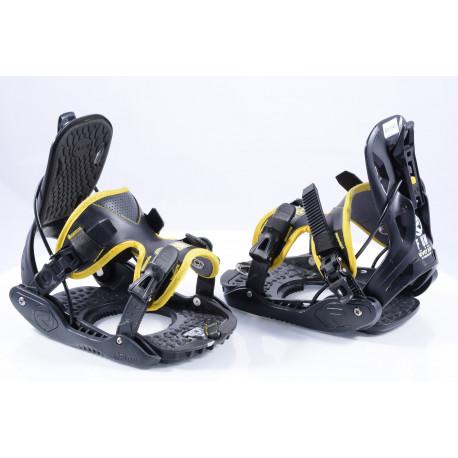 snowboardové viazanie FLOW EVOLVE PI Tech Black/yellow, size M ( ako NOVÉ )