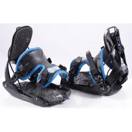 snowboardové viazanie FLOW EVOLVE black/blue, size L ( TOP stav )