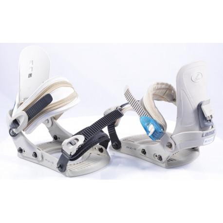 snowboard binding NITRO LAMAR AX-S white, size S/M
