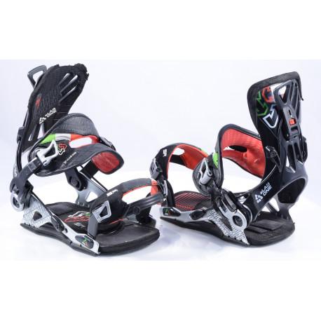 snowboardové viazanie SP sLAB.ONE worldwide snowboarding, 3D EVA response, black, size L