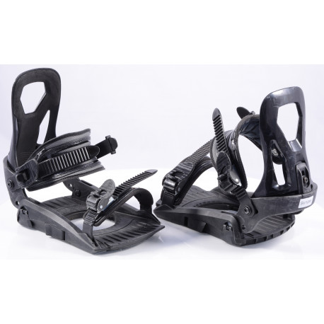 snowboard binding HATCHEY INTERCHANGER BLACK, size M/L/XL ( TOP condition )