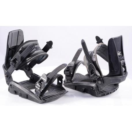 snowboard binding HATCHEY INTERCHANGER, 3D fit, black, size S/M