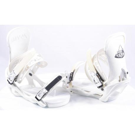 snowboard binding VIMANA SCANDO WHITE, size L