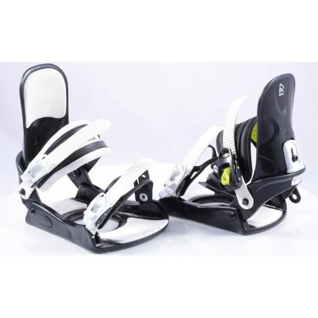 snowboardové viazanie ROBLA GRANITY Black/white, size M/L