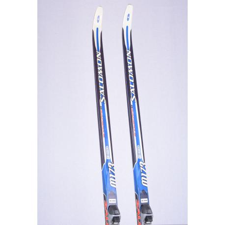 bežecké lyže SALOMON SNOWSCAPE 8 + Salomon SNS ( TOP stav )