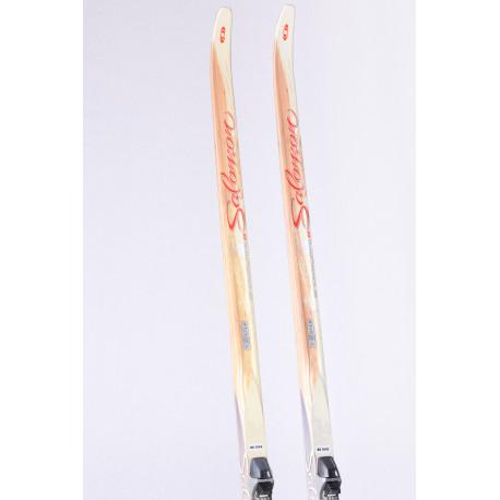bežecké lyže SALOMON SNOWSCAPE 8 SIAM + Salomon SNS