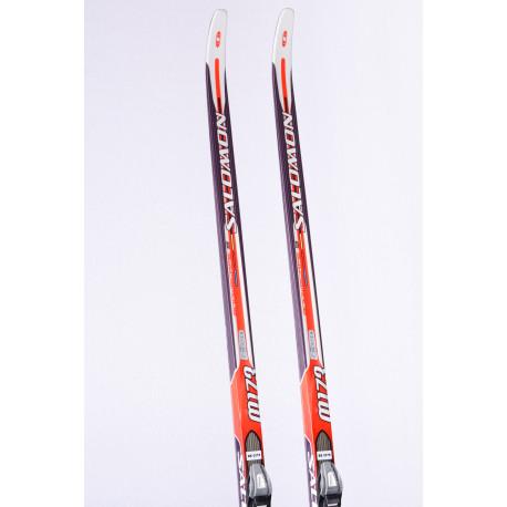 cross-country skis SALOMON SNOWSCAPE 9 + Salomon SNS ( TOP condition )
