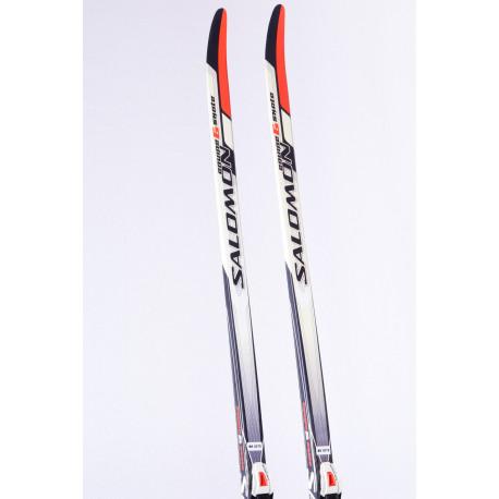 cross-country skis SALOMON EQUIPE 6 SKATE + Salomon SNS
