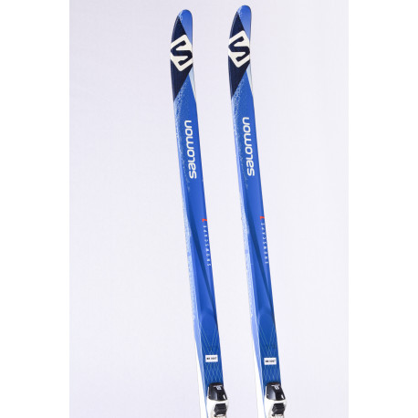 cross-country skis SALOMON SNOWSCAPE 7 + Salomon SNS ( TOP condition )