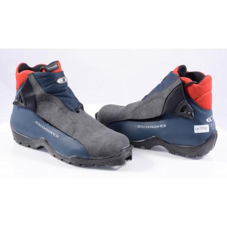 cross-country boots SALOMON, SNS profile ( TOP condition )