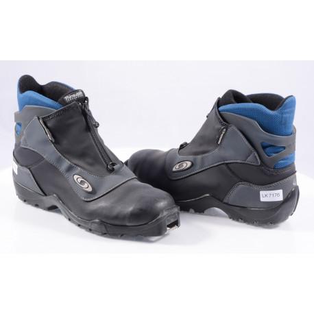 cross-country boots SALOMON, SNS profile, Black/Blue ( TOP condition )