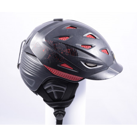 lyžiarska/snowboardová helma ATOMIC XEED BLACK/red ( TOP stav )