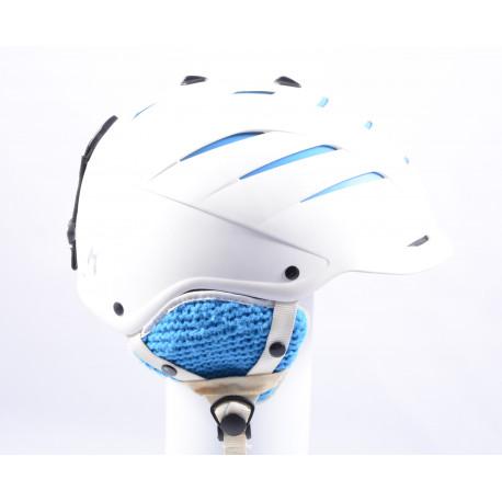 ski/snowboard helmet ATOMIC AFFINITY LIVE FIT W, WHITE/blue, adjustable