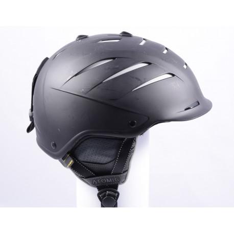 lyžařská/snowboardová helma ATOMIC NOMAD LIVE FIT black/white, AIR ventilation, nastavitelná ( TOP stav )