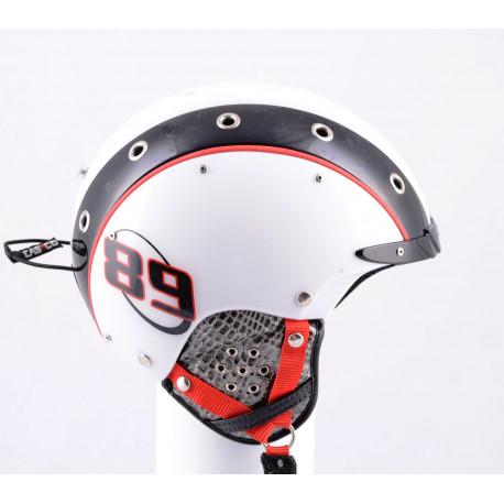 lyžařská/snowboardová helma CASCO MINI PRO 89 white/black 2019, nastavitelná