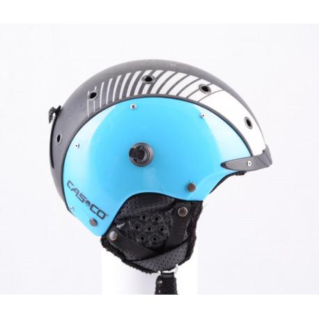 lyžiarska/snowboardová helma CASCO SP-3 airwolf 2018, black/blue, nastaviteľná