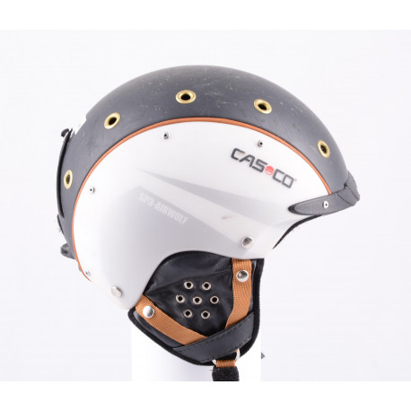 casque de ski/snowboard CASCO SP-3 airwolf, black/white, réglable