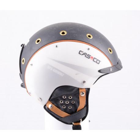 skidhjälm/snowboardhjälm CASCO SP-3 airwolf, black/white, justerbar