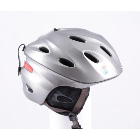 lyžiarska/snowboardová helma GIRO FUSE SMU ANTRACIT, nastaviteľná, air vent ( ako NOVÁ )