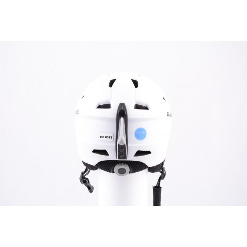 lyžiarska/snowboardová helma BLACK CREVICE WHITE 2019, antibacterial, nastaviteľná, air vent ( ako NOVÁ )