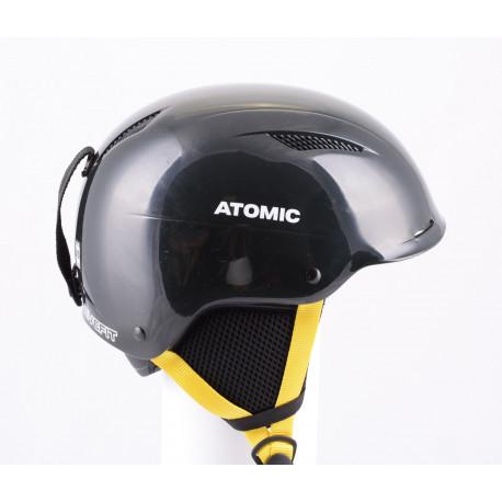 lyžiarska/snowboardová helma ATOMIC SAVOR LF live fit 2018, BLACK/yellow, nastaviteľná ( AKO NOVÁ )