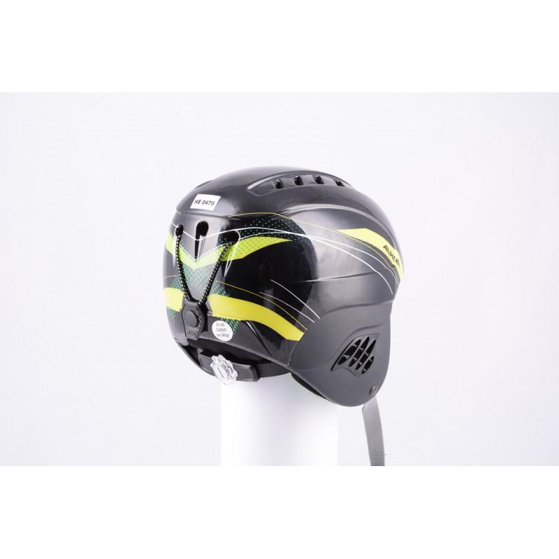lyžiarska/snowboardová helma ALPINA CARAT black/yellow, nastaviteľná, air vent (TOP stav )