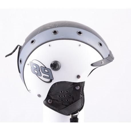 kask narciarsky/snowboardowy CASCO MINI PRO 89 white/grey/black