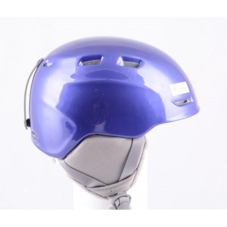 lyžiarska/snowboardová helma SMITH ZOOM JR. violet, nastaviteľná, air vent ( TOP stav )