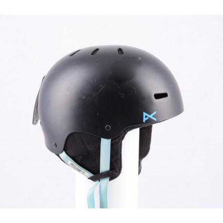 lyžařská/snowboardová helma ANON PROGRESSION 2.0 BLACK/blue, nastavitelná
