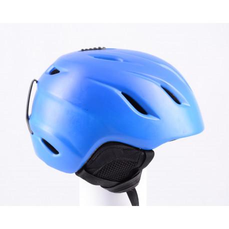 lyžiarska/snowboardová helma GIRO NINE blue 2018, AIR ventilation, nastaviteľná ( TOP stav )