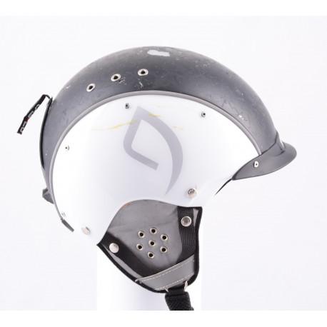 lyžařská/snowboardová helma CASCO SP-3 airwolf, white/black, nastavitelná