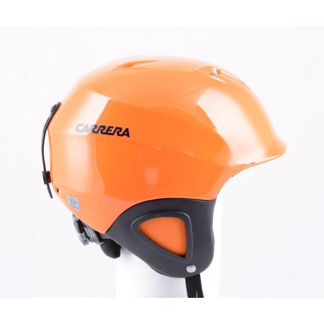 ski/snowboard helmet CARRERA CJ-1 ORANGE, adjustable ( NEW )