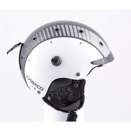 lyžiarska/snowboardová helma CASCO SP-3 AIRWOLF white/grey/black, nastaviteľná