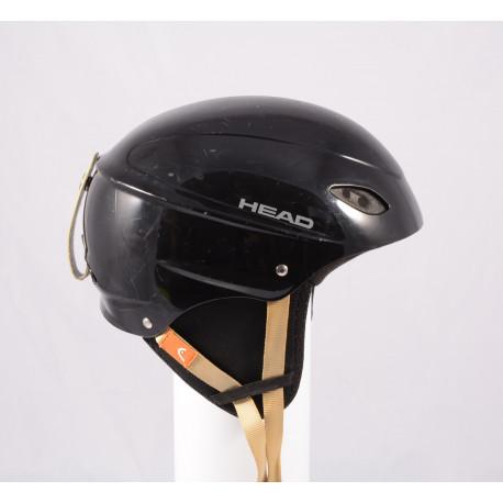 lyžařská/snowboardová helma HEAD BLACK/brown, nastavitelná
