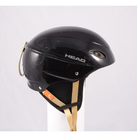 lyžiarska/snowboardová helma HEAD BLACK/brown, einstellbar
