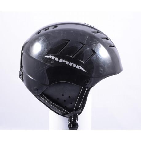 lyžiarska/snowboardová helma ALPINA WIND IGUANA BLACK