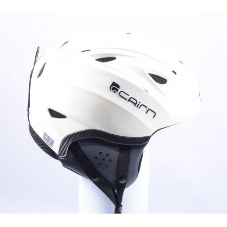 lyžiarska/snowboardová helma CAIRN WHITE