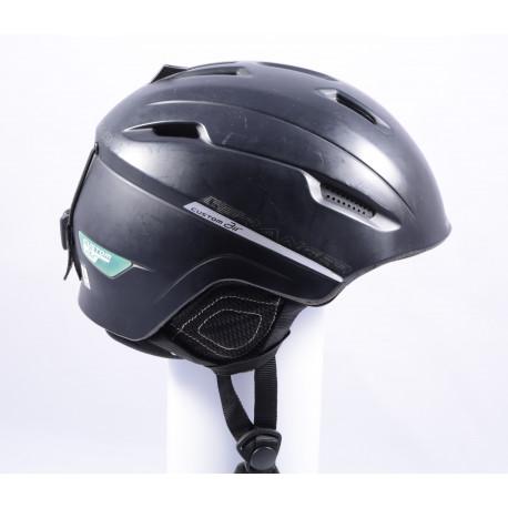 lyžiarska/snowboardová helma SALOMON RANGER Custom Air, black, Air ventilation
