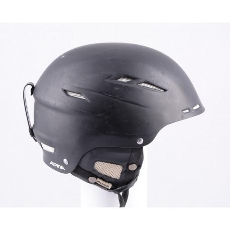 kask narciarsky/snowboardowy ALPINA BIOM black/matt, regulowany
